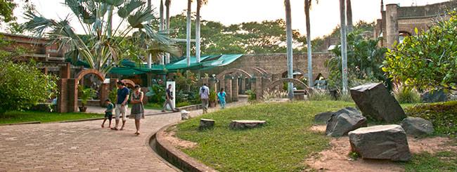Центр для посетителей в Ауровиле
