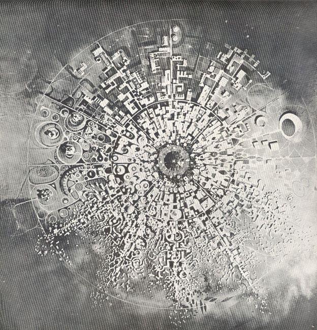 Модель Ауровиля «Туманность», одобренная Матерью в 1966