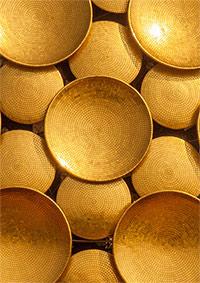 Золотые диски - покрытия Матримандира