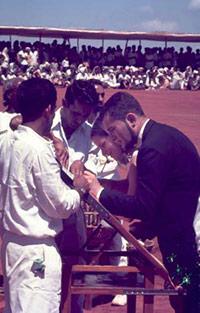 Церемония инаугурации Ауровиля