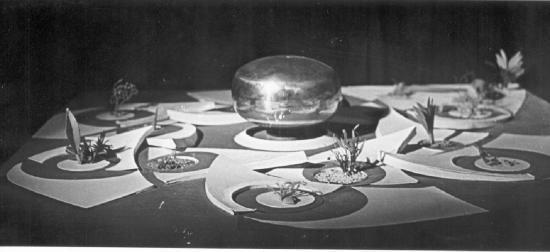 Модель Матримандира 1970 года