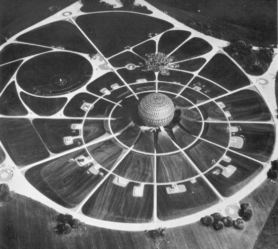 Модель Матримандира 1971 года