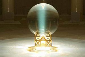 Хрустальный шар медитационного Зала