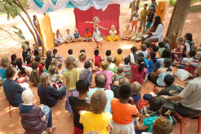 Школа Дипанам для детей от 7 до 14 лет
