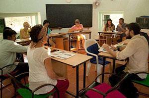 Лингвистическая лаборатория Ауровиля